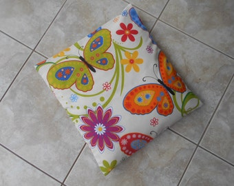 Pillow cover butterfly flower cushion pillow case