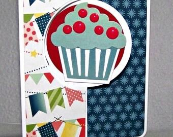 Happy Birthday...  Mini Flip Card...