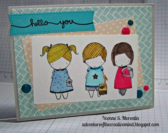 Hello You... Greeting  Card...