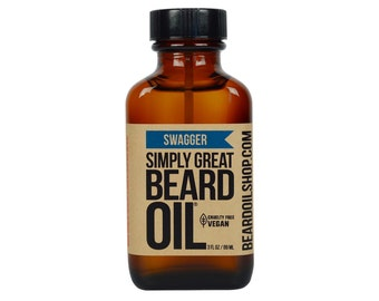 Beard Oil SWAGGER by Simply Great