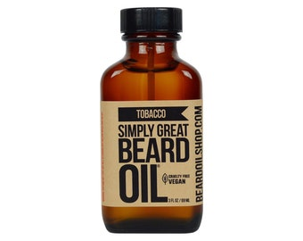 Beard Oil TOBACCO by Simply Great