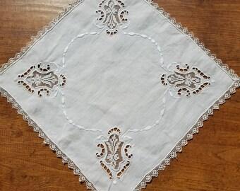 Vintage Wedding Handkerchief  #9