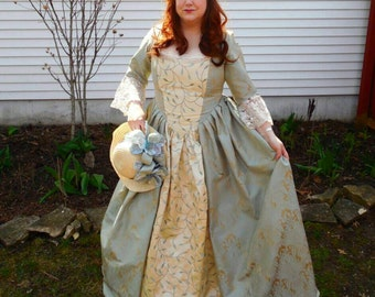 Madame, 18th century costume gown (made to order)