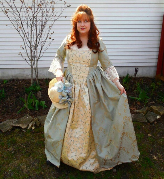 18th century costume gown