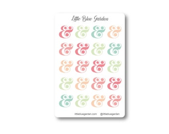 Hello Kate Collection: Ampersands - Customize Color