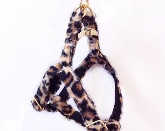 """Adjustable dog harness """"Leopard"""""""