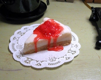 Cherry Cheesecake Candles