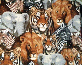 Safari Animals Fleece