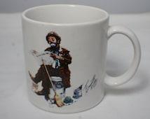 Original Emmett Kelly Circus Collection Clown Mug-A Dave Grossman Creation Japan