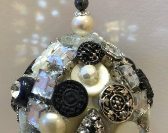 Black Deco Ornament
