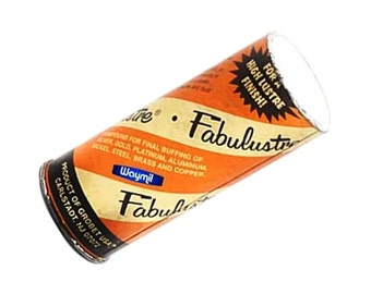 Details About  Fabulustre Jewelry Finish Polishing Compound For Precious Metals - 1/4Lb (4 Oz) Wa 417-003