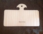 Hornbook #2812. Hand Cut, Sanded. Hardwood Birch Board. Perfect for Punch Needle. Ready to Paint!