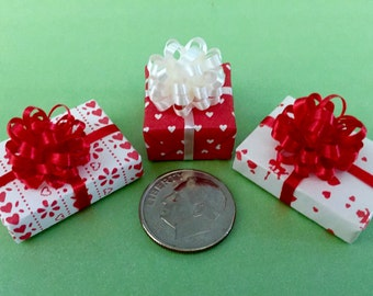 Three Tiny Little Valentine Gift Packages