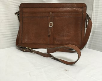 Brown leather purse,bag, Made in Brazil, shoulder bag, purses bags
