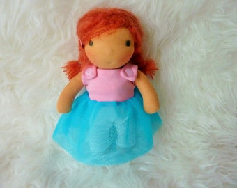 "Luna 9"" Waldorf inspired Doll"