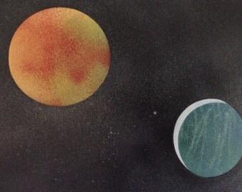 Galaxy Spray-Painting