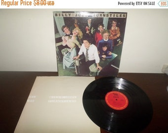 Save 30% Today intage 1976 LP Record Billy Joel Turnstiles Columbia Records PC-33848 Very Good Condition 4024