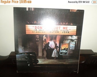 Save 30% Today Vintage 1973 LP Record Elton John Don't Shoot Me I'm Only The Piano Player Excellent Condition 4909
