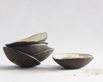 Small Salt Cellar Bowls
