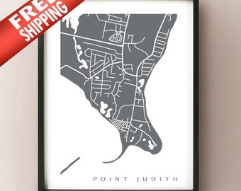 Point Judith Print - Narragansett, Rhode Island Poster