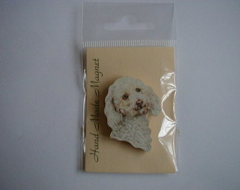 Small Poodle Fridge Magnet