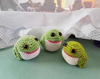 Crocheted Frogs