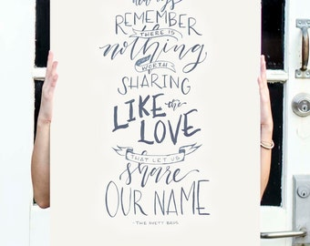 Share Our Name Poster