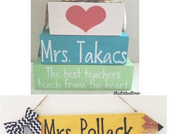 Custom Teacher Gifts - Pencil
