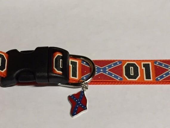 Dukes Of Hazzard Dog Collar