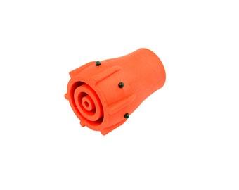 "Proops 1 x Red Zimmer Frame, Walking Stick, Cane, Ferrule, Sturdy Grip, Wear Indicator. 19mm (3/4"") or 22mm (7/8"").  (L0017) Free UK Postage"