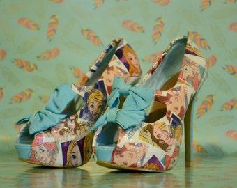 Disney princess Heels