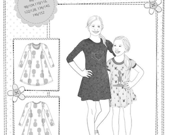 Farbenmix pattern KIARA dress
