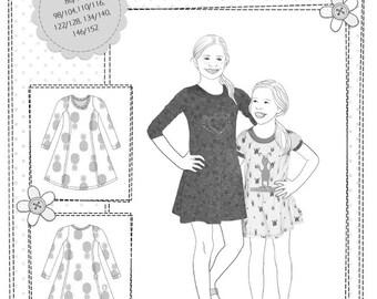 Farbenmix pattern KIARA dress