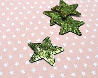 Patch Star Green
