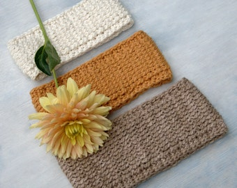 Headband Pattern Crochet Accessory Pattern DIY Ear Warmer Child Headband Pattern DIY Stocking Stuffer Crochet Pattern - Woodland Trekke P156