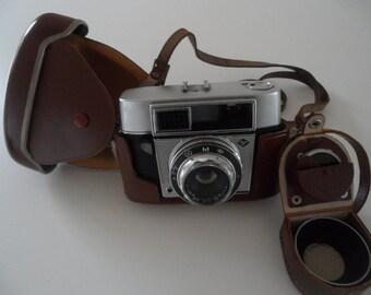Agfa camera,AGFA Optima 1,miniature camera, camera,Vintage camera,camera and utensils,AGFA Optima1,photo camera,camera with cover,old camera