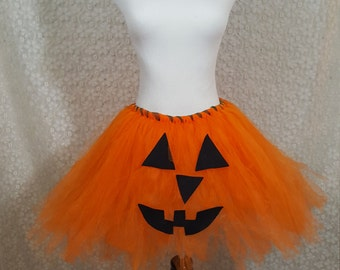 Jack-O-Lantern Tutu Set, CHILD Jack-O-Lantern Costume, Fall Costume, Pumpkin Halloween Costume, Photo Prop, Cake Smash, Pumpkin Patch Photos