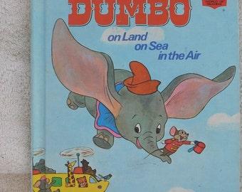 Walt Disney's Dumbo on Land on Sea in the Air