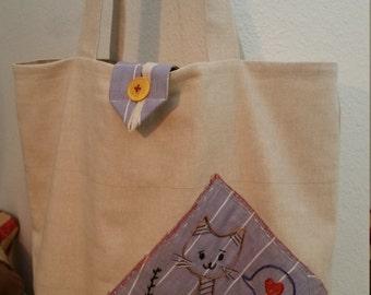 Love Kitty Market Bag