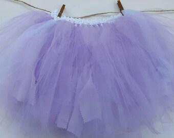 Lavender and White Tutu