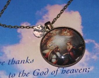 Arc Angel Gabriel large Pendant Necklace