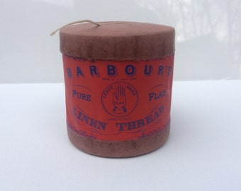 Vintage Barbour's Pure Flax Linen Thread