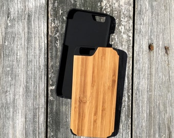 Custom Laser Engraved iPhone 7 Wood Case (Real Wood)