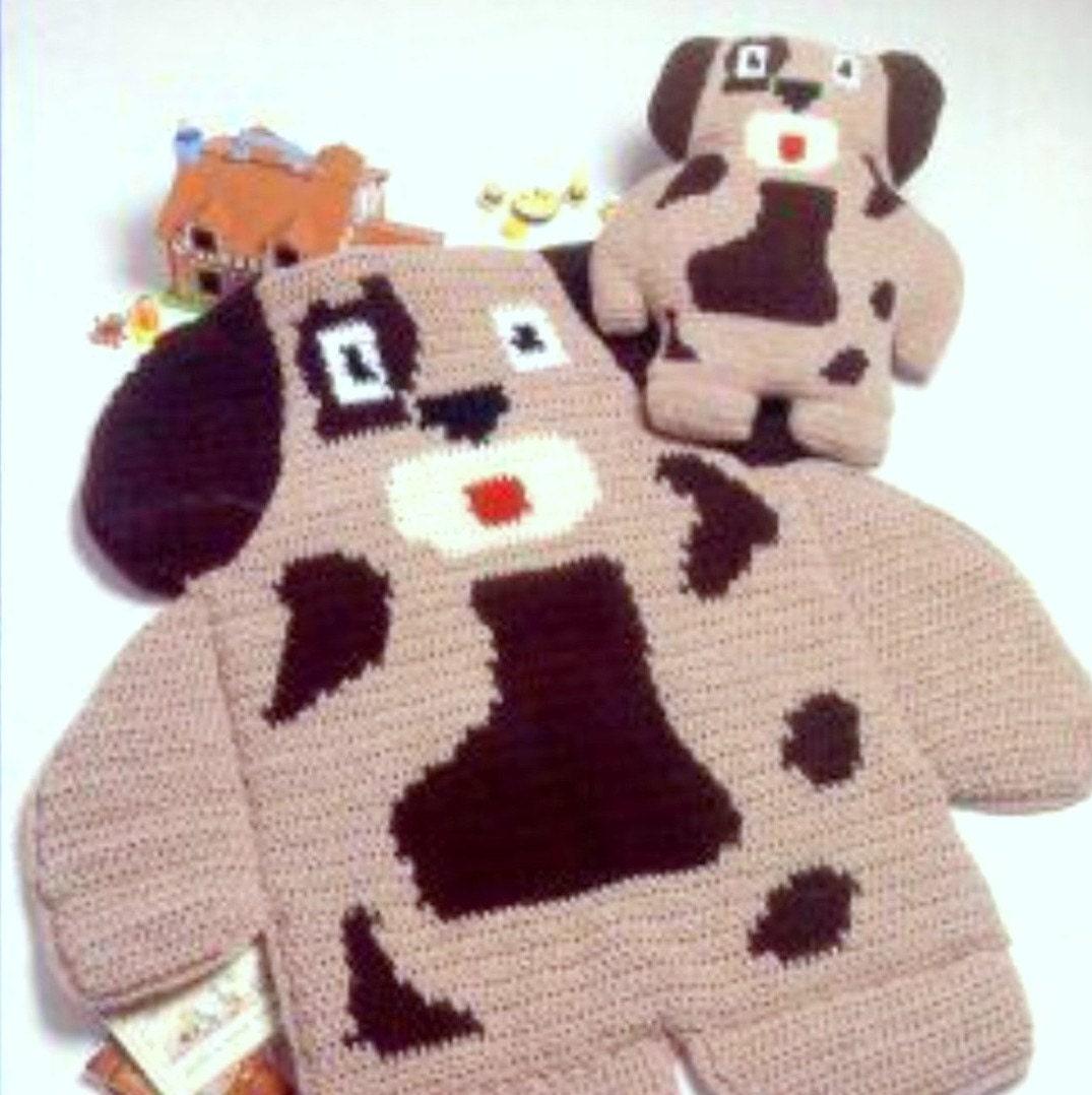 Vintage Crochet Pattern Nap Mats Cushions Or Pillows Play