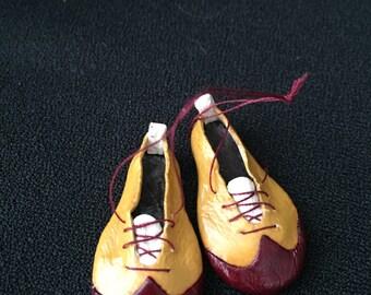 1:12 miniature Clown shoes