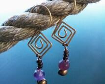 Spiraling Zen Earrings