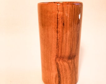 Wood Turned Cherry Tumbler, Drinking Cup