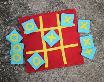 CUSTOM: Felt Tic-Tac-Toe Game