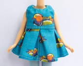 Mandarin Duck Blythe Dress - Doll Clothes - Neo Blythe, Pullip, J-doll, Azone, Licca Outfit