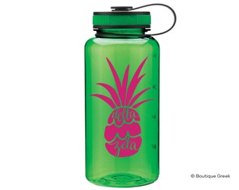 DZ Delta Zeta Pineapple Water Bottle